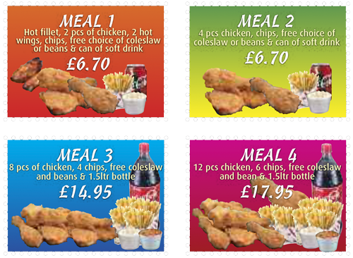 chicken meal deals